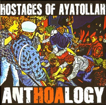 Hostages Of Ayatollah - AntHOAlogy 1982-1989 - 2LP + DVD (+ MP3)
