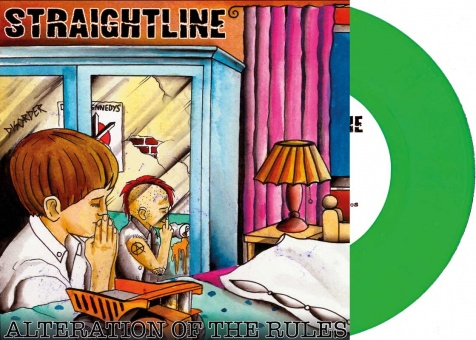 "Straightline - Alteration Of The Rules 7"" EP (+MP3) - Coloured Vinyl!"