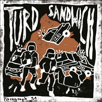 "Turd Sandwich - Paragraph 91 7"" EP (+ MP3)"
